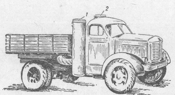 Газогенераторный автомобиль